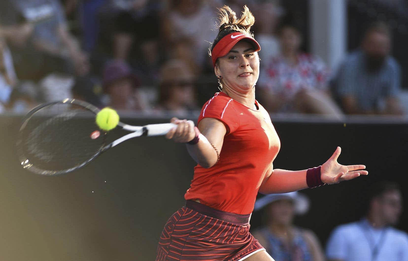<p>Âgée de 18 ans, Bianca Andreescu en sera à sa première finale d'un tournoi de la WTA.</p>