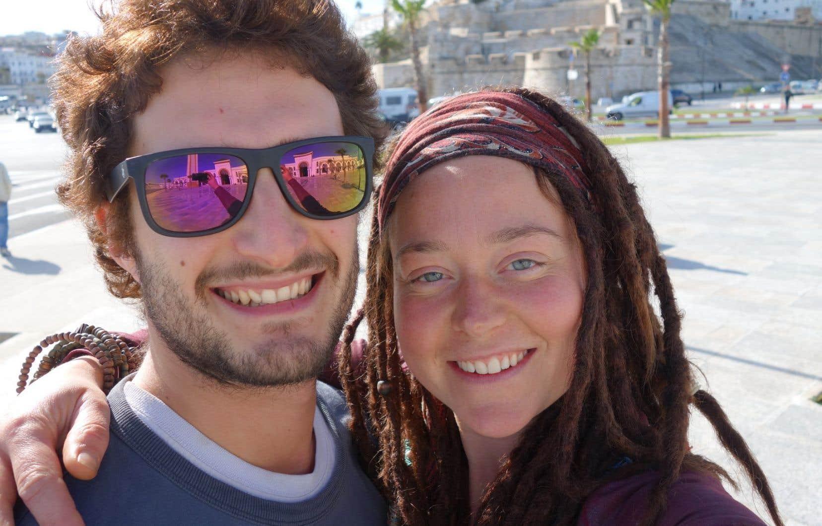 Édith Blais, 34ans, et son ami Luca Tacchetto, 30ans