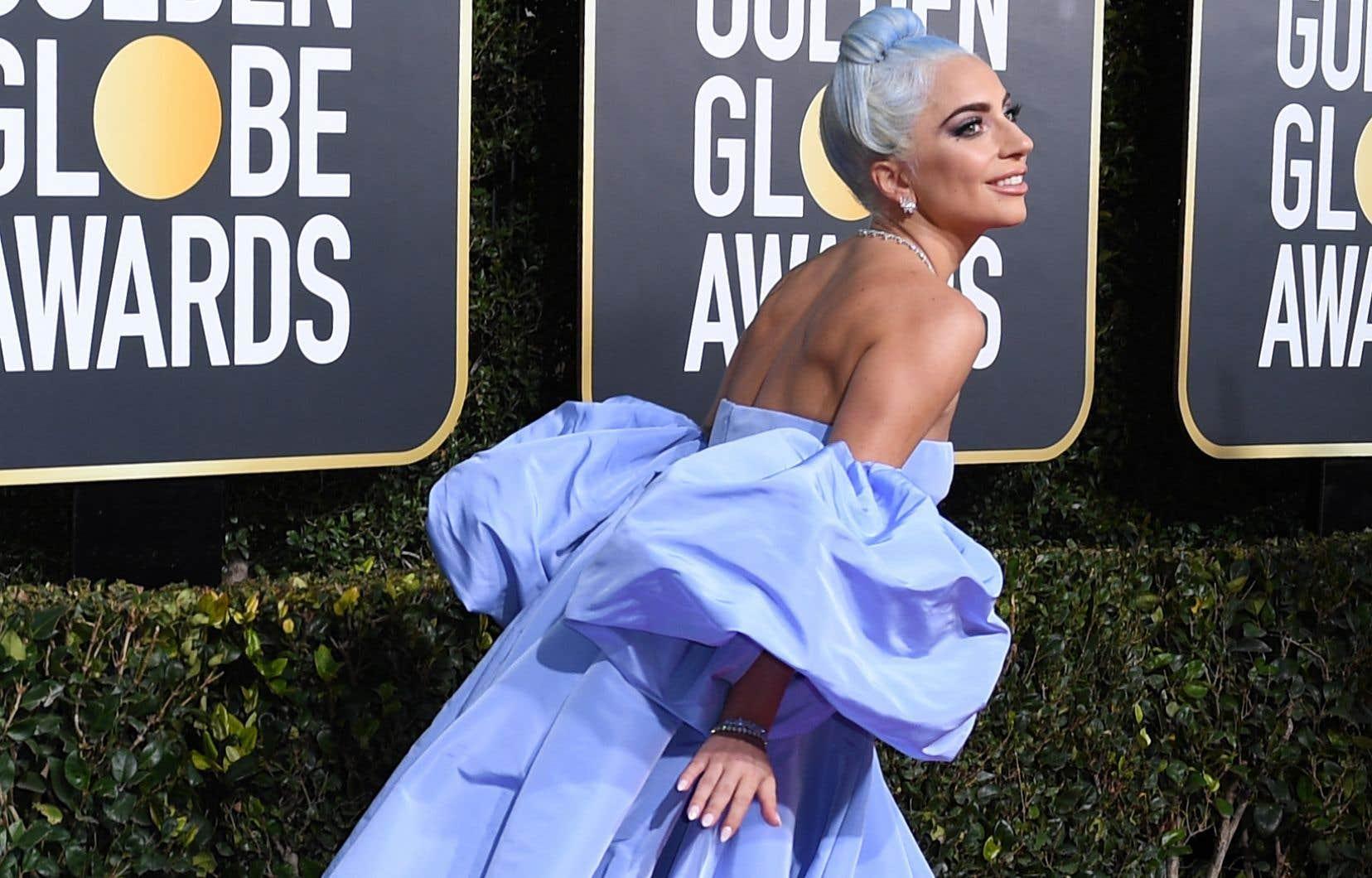 Lady Gaga pourrait repartir avecdeux statuettes.