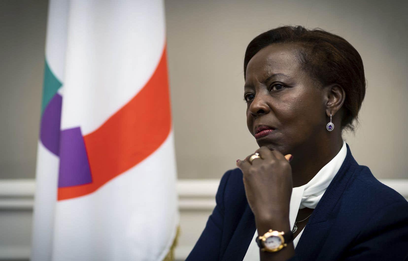 Ministre des Affaires étrangères du Rwanda depuis décembre 2009, elle est une fidèle du président Paul Kagame, souvent dénoncé pour son traitement des droits de la personne.