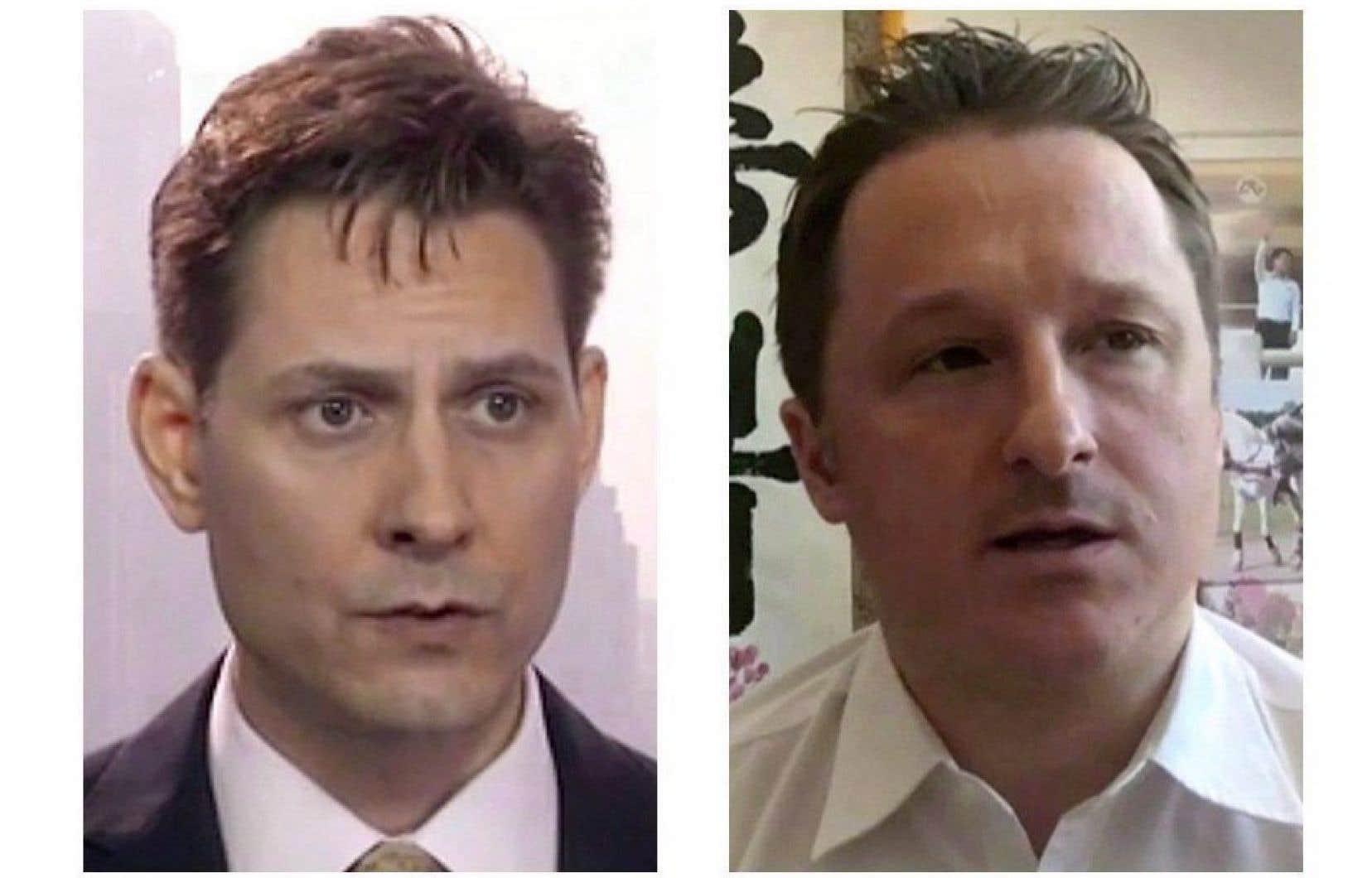 L'ex-diplomate canadien Michael Kovrig et le consultant canadien Michael Spavor sont détenus en Chine depuis le 10 décembre.
