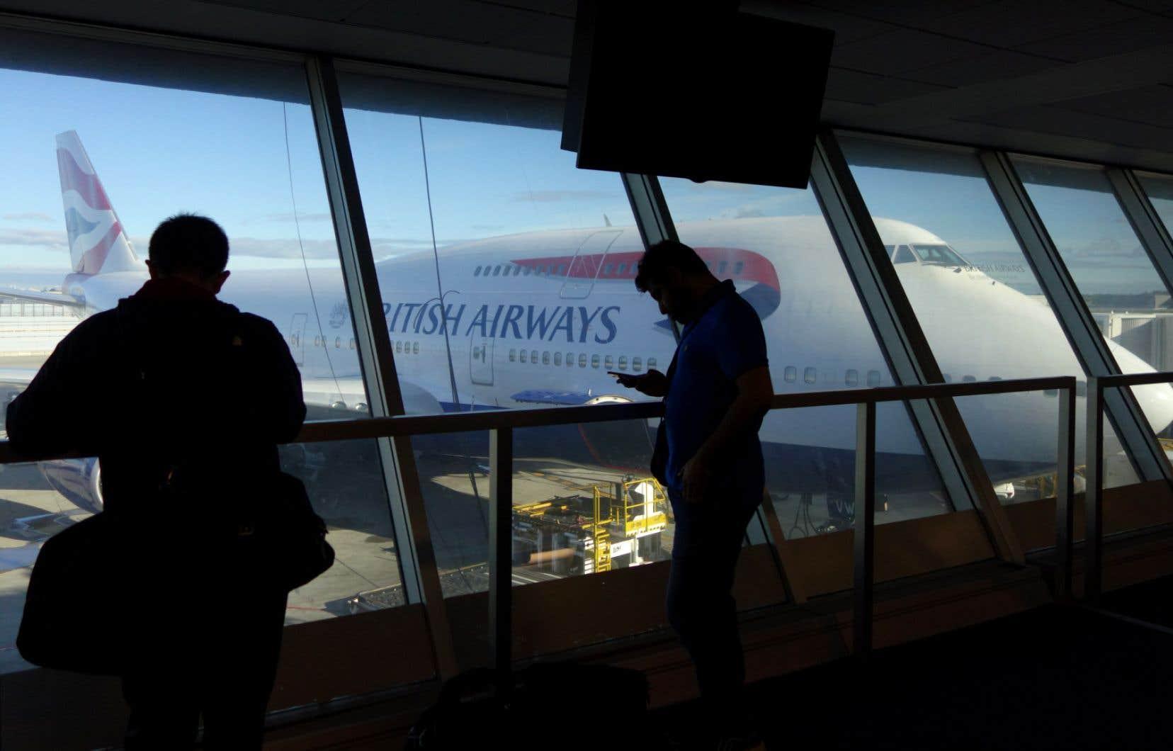 L'aéroport londonien d'Heathrow est l'un des plus achalandés du monde.