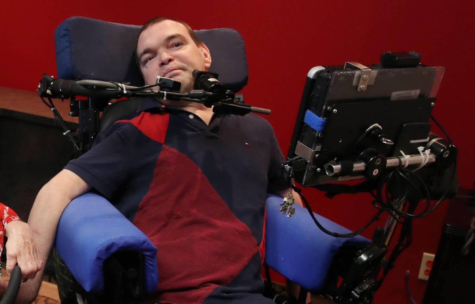 Aucun médecin ne peut dire combien d'années il reste à vivre à Jean Truchon, malgré ses souffrances quotidiennes.