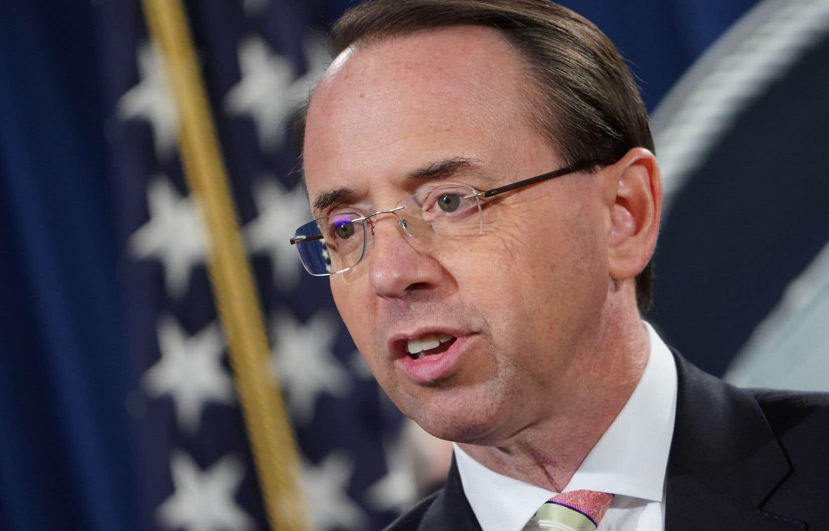 Rod Rosenstein a fait une belle carrière au sein de l'administration pénale, au service de cinq présidents.