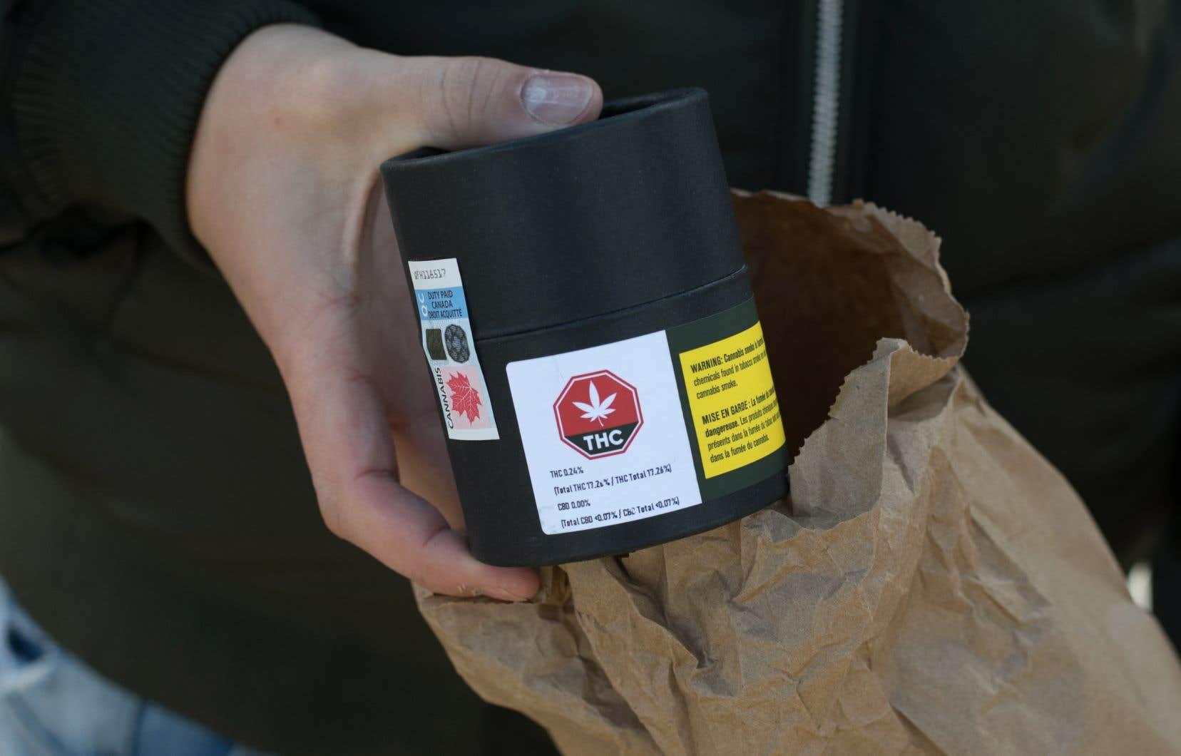 Statistique Canada rapporte que 47,7% des répondants volontaires à son sondage ont fait leurs achats auprès du marché légal de cannabis.