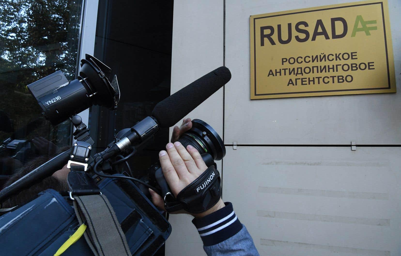 L'agence antidopage de Russie, la RUSADA, pourrait être sanctionnée par l'AMA.