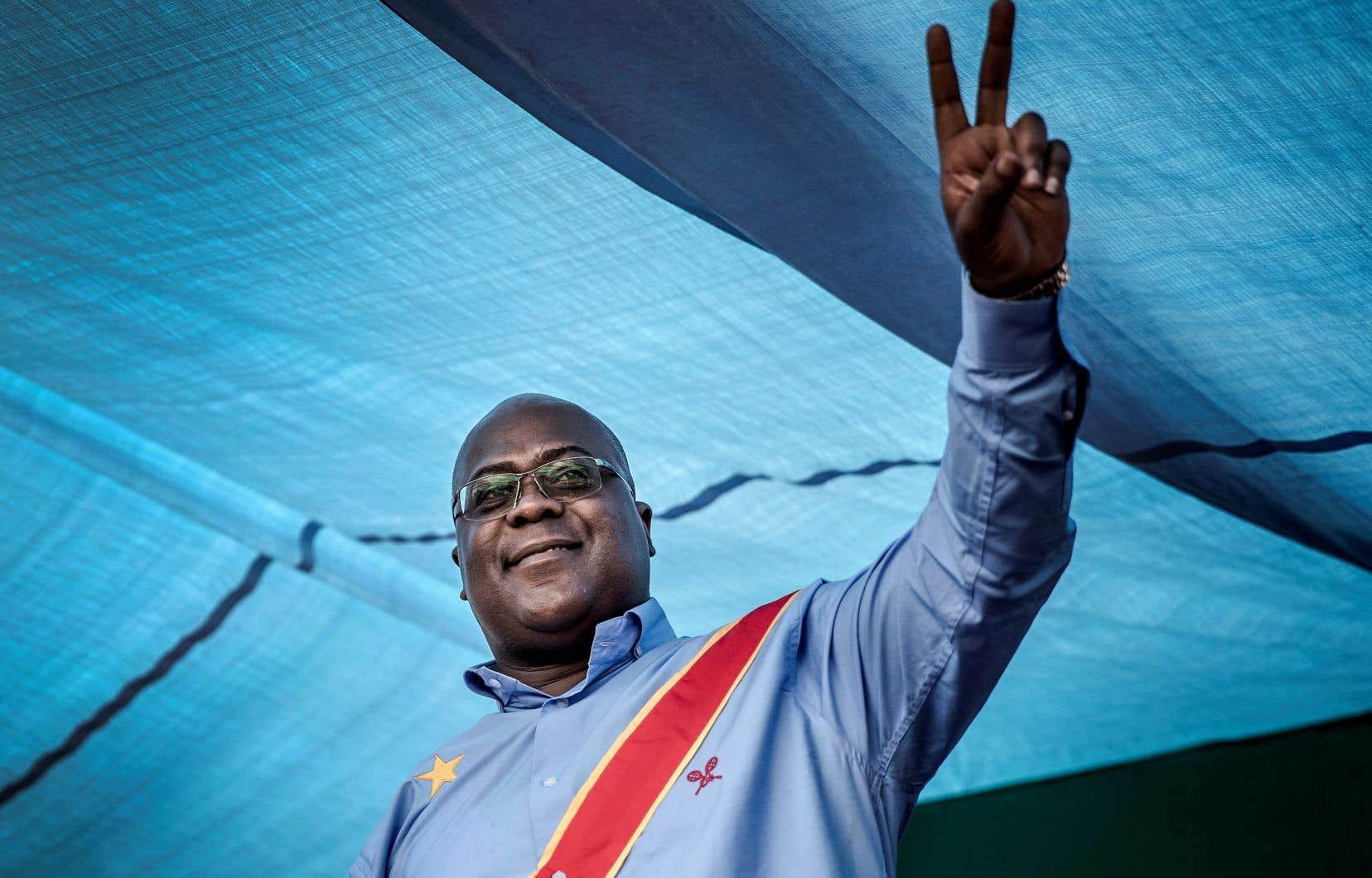 Félix Antoine Tshisekedi Tshilombo, dit «Fatshi», haute taille et carrure massive, hérite du nom de son père Étienne, figure historique de l'opposition en RDC décédée le 1er février 2017.