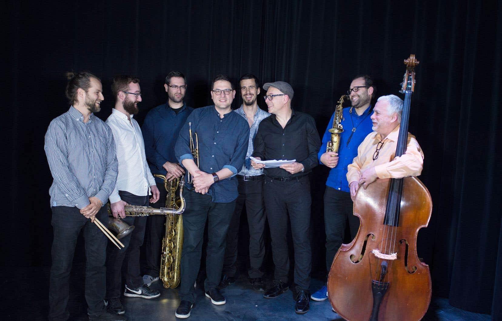 Le Jazzlab Orchestra a fait paraître vendredi son septième album, «Quintessence».