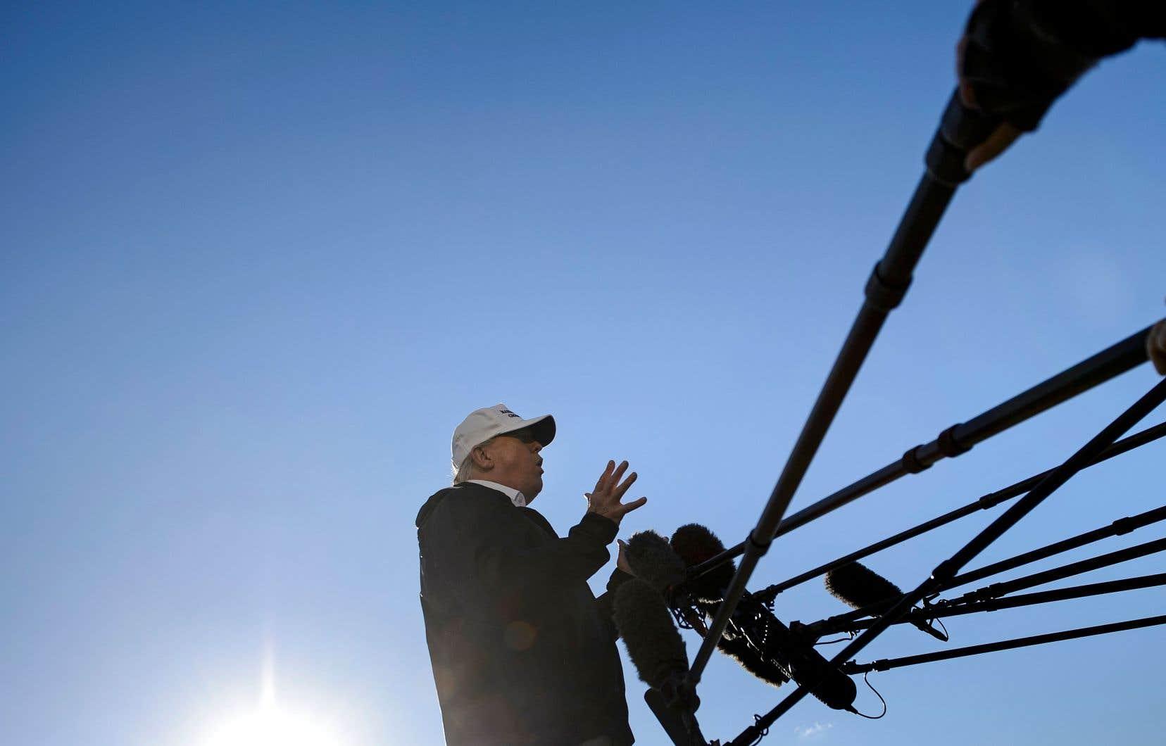À McAllen au Texas, le président américain, Donald Trump, a attribué aux démocrates la responsabilité de la fermeture partielle du gouvernement.