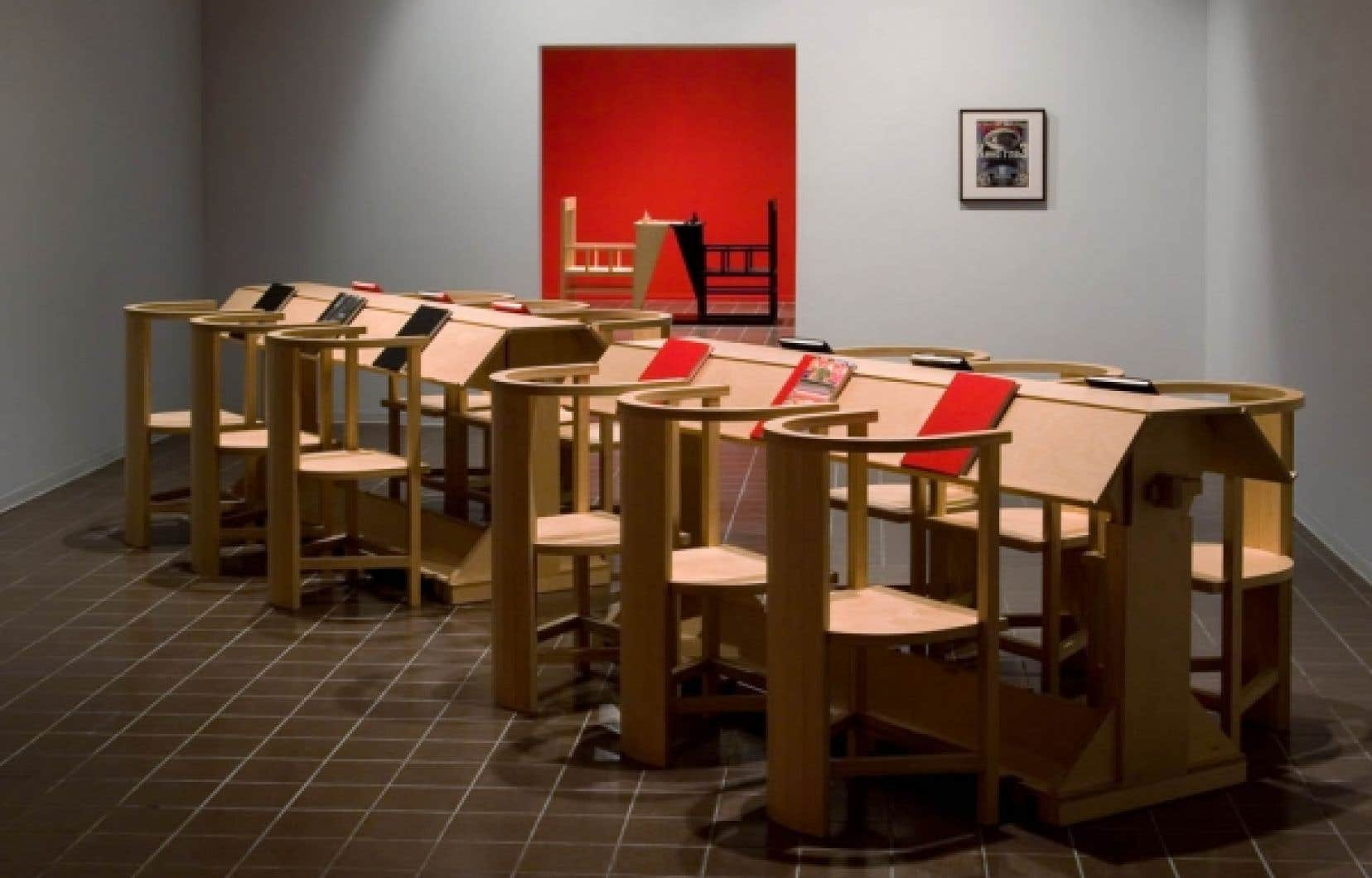 Room for the Working Artist, 2003-2004, installation d'Angela Grauerholz