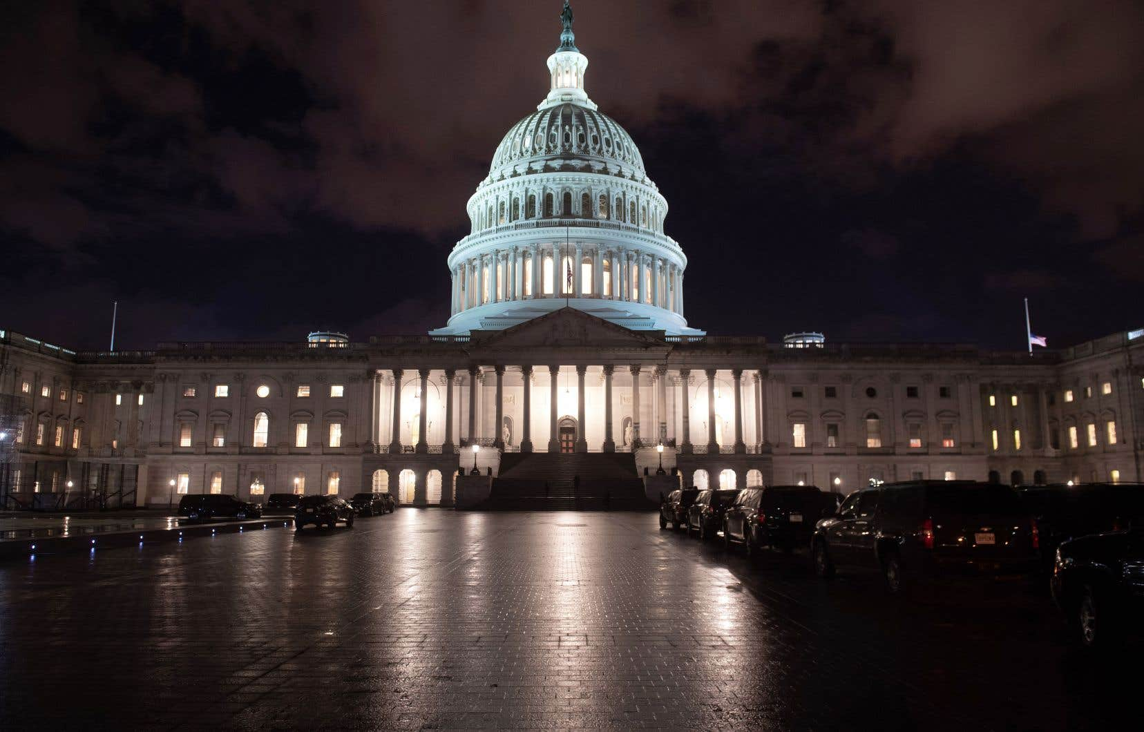 Le Congrès photographié le 21décembre, à la veille de ce qui est devenu la plus longue paralysie partielle de l'Administration.