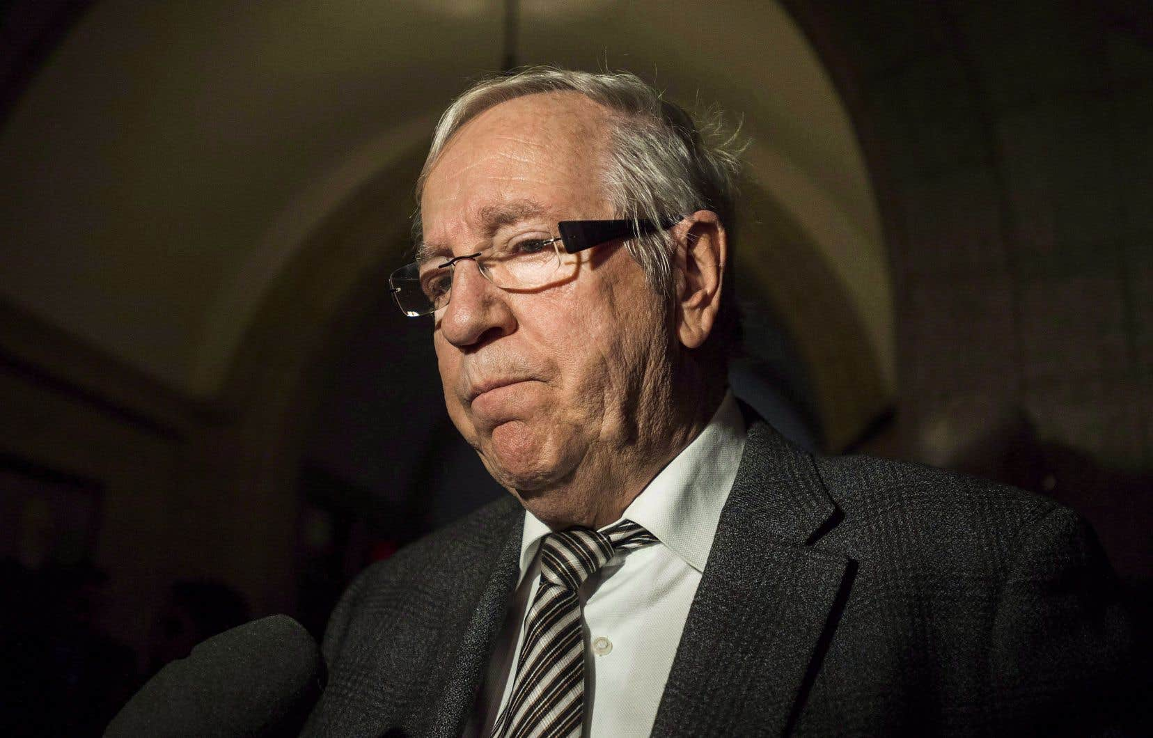 Louis Plamondon sera de nouveau candidat, pour une 11eélection. S'il est élu et qu'il complète son mandat, il aura siégé pendant 39ans.