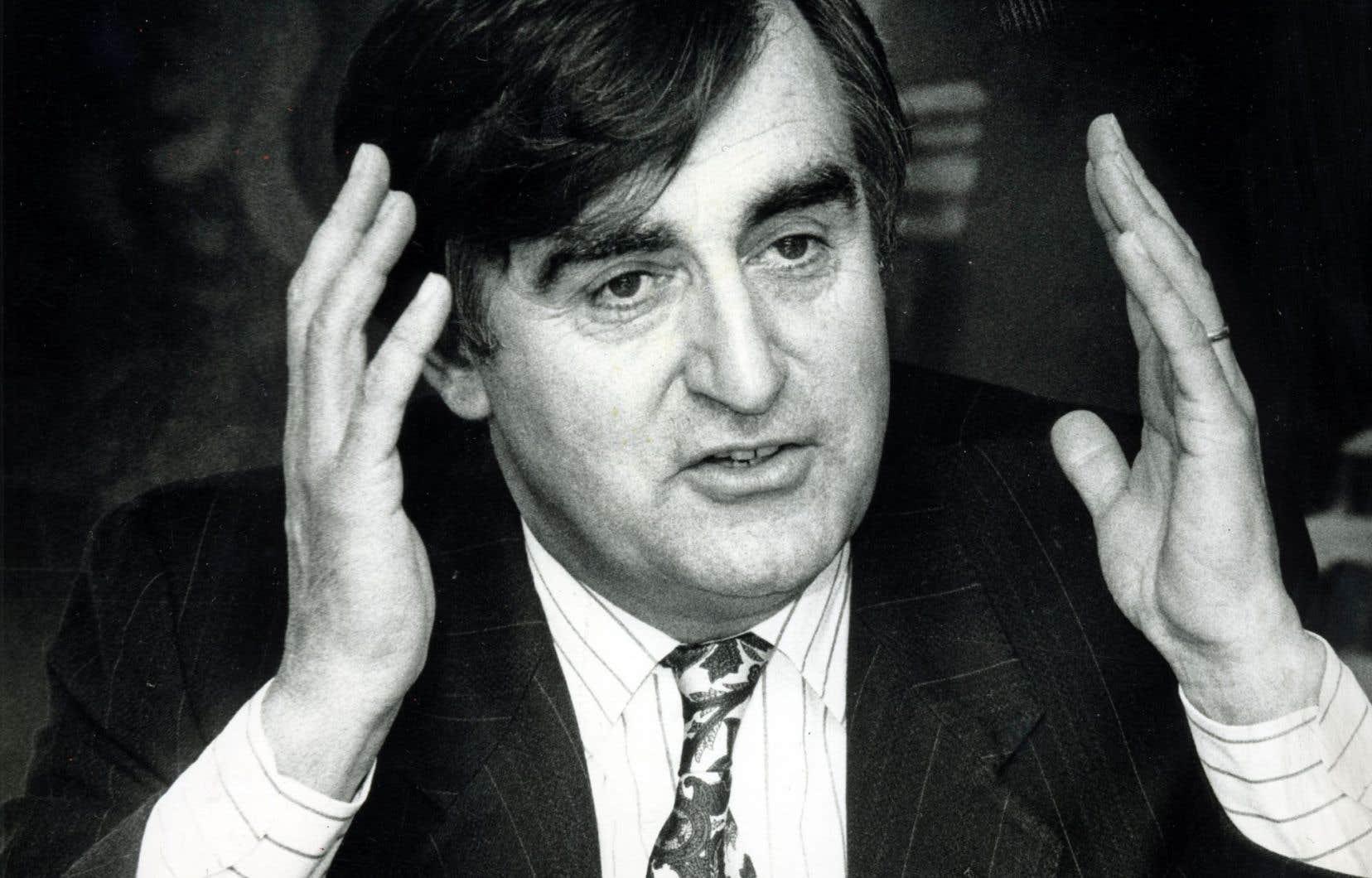 Lucien Bouchard en 1991