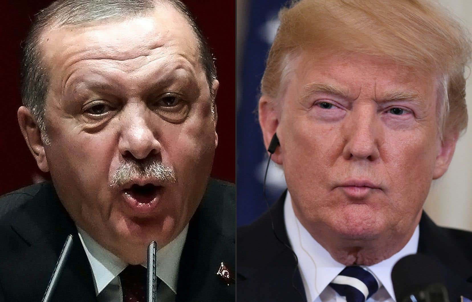 Ankara avait réagi vivement à des informations selon lesquelles Trump envisageait de conditionner le retrait des soldats américains à la sécurité des combattants kurdes.