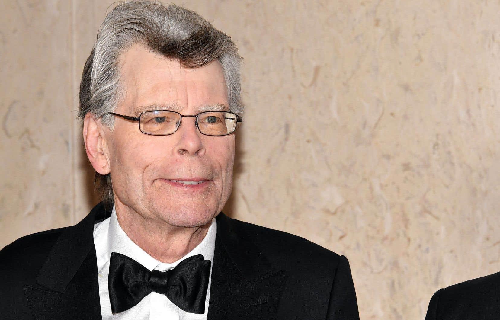 Stephen King, au gala littéraire du PEN en mai dernier
