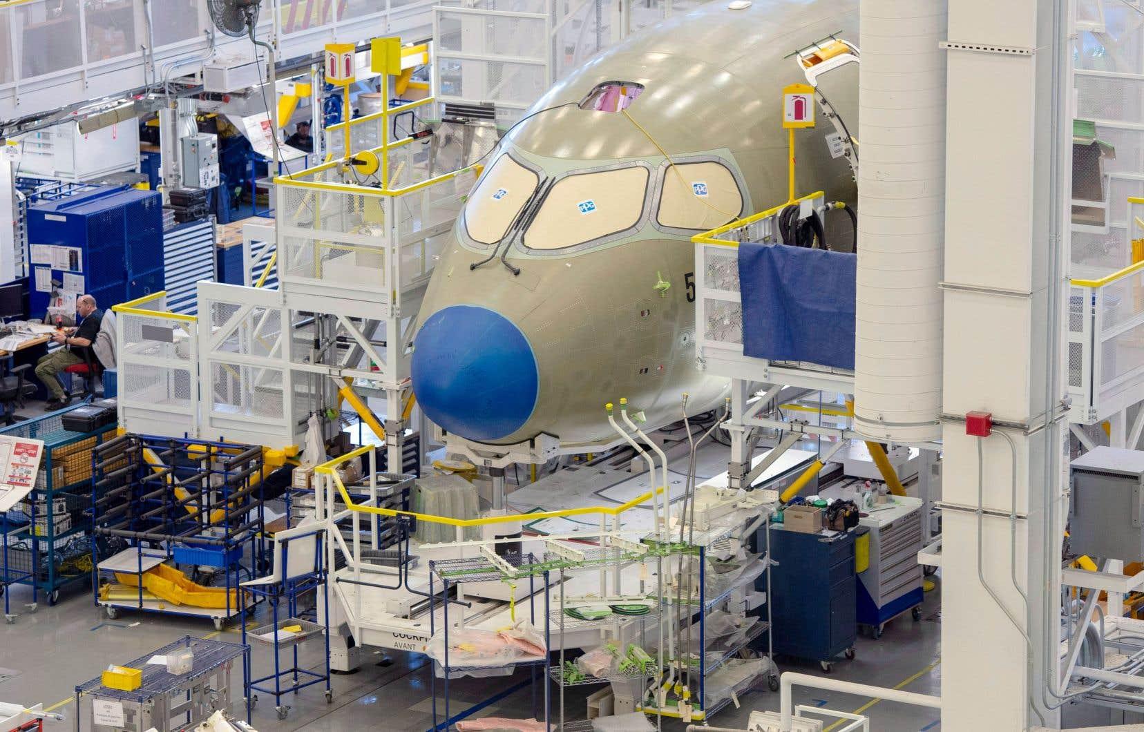 Un événement était organisé par la multinationale lundi à Mirabel, où s'effectue l'assemblage des appareils A220, nés de la C Series de Bombardier.