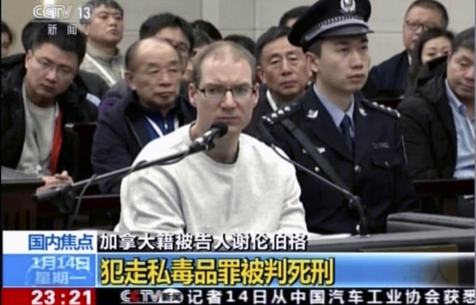 Le CanadienRobert Lloyd Schellenberg a été condamné à mort en Chine.