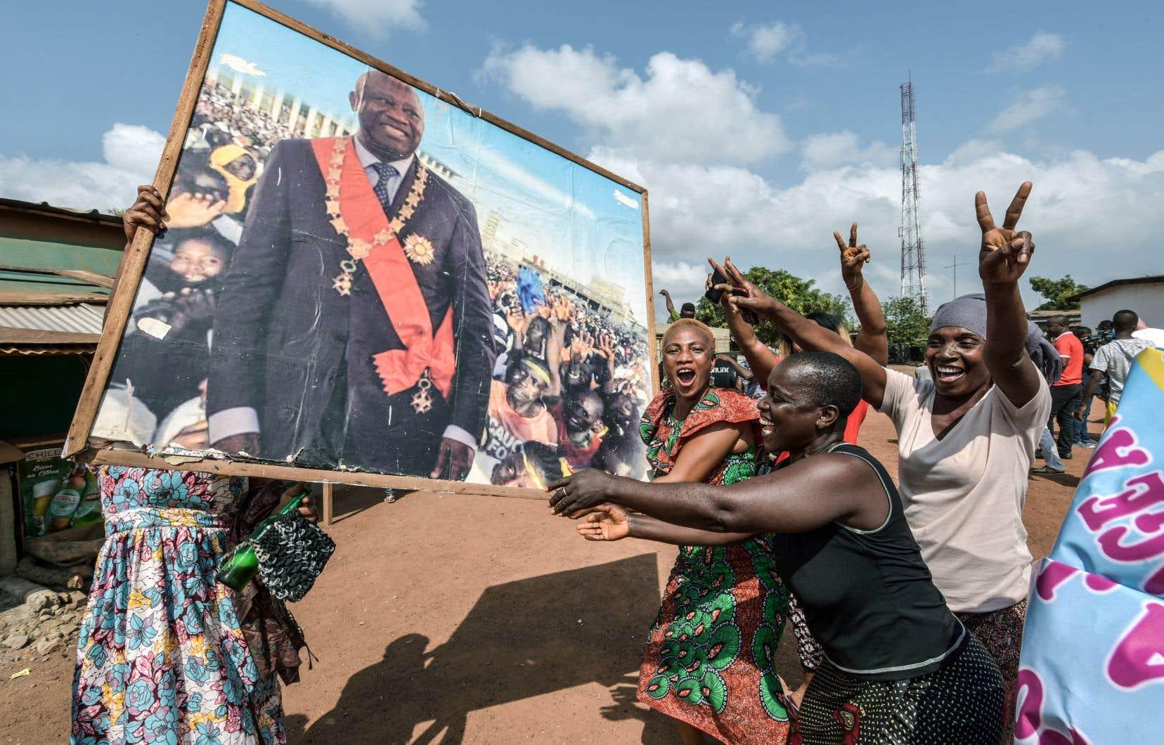 Laurent Gbagbo a été acquitté mardi de crimes contre l'humanité.