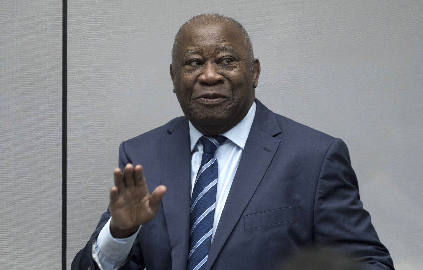 L'ancien président de la Côte-d'Ivoire Laurent Gbagbo.