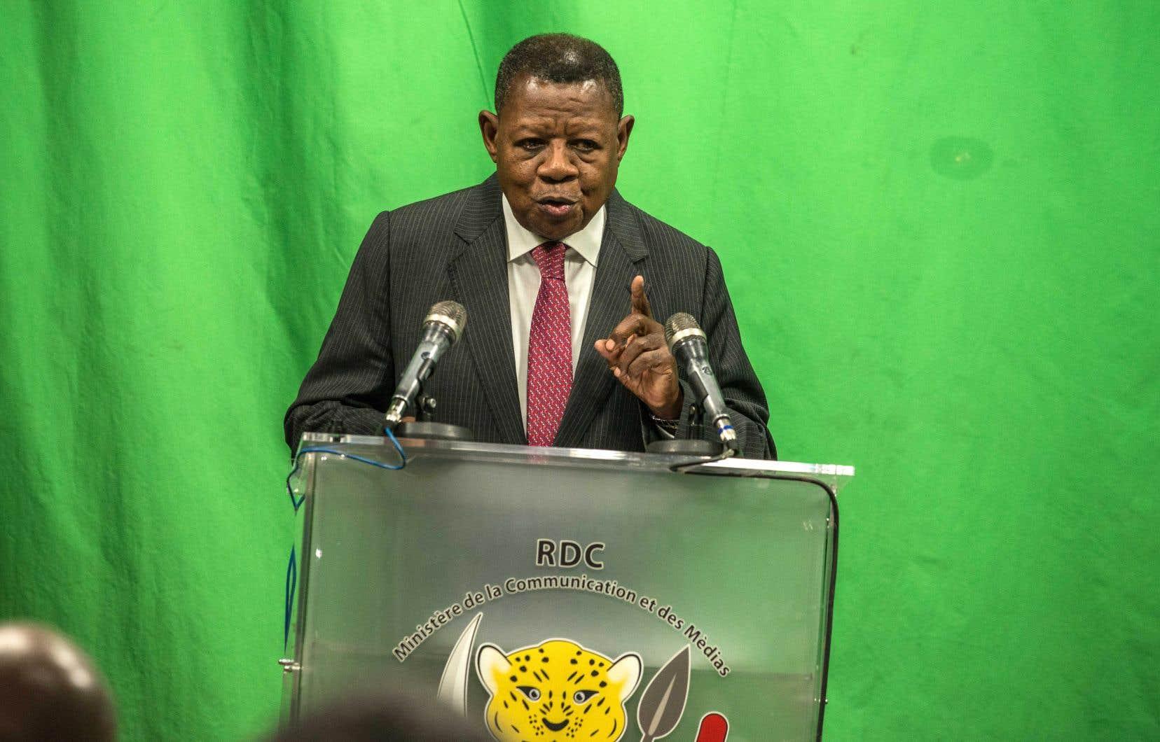 Le porte-parole du gouvernement congolais, Lambert Mende