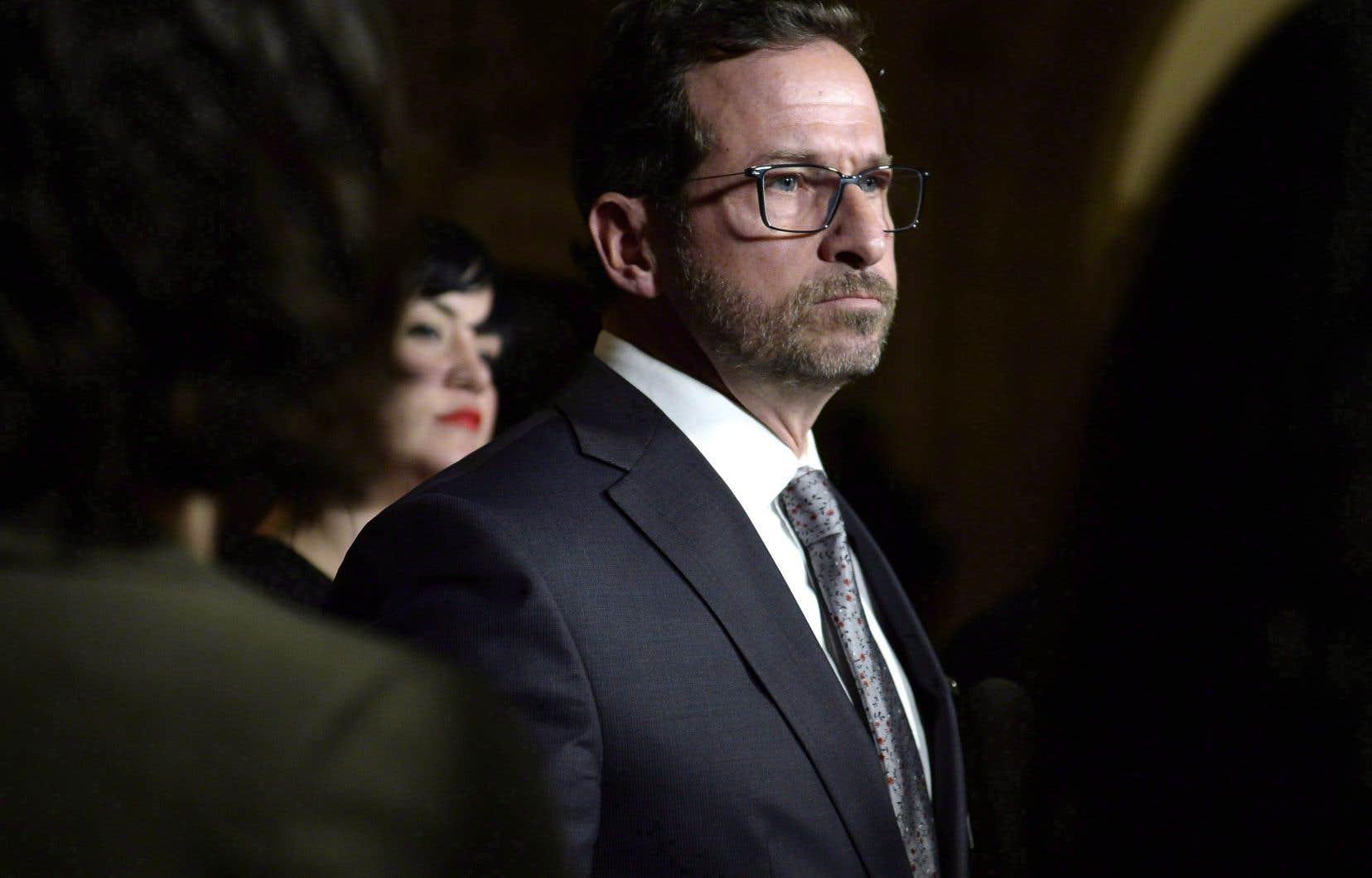 Le nouveau chef du Bloc québécois, Yves-François Blanchet