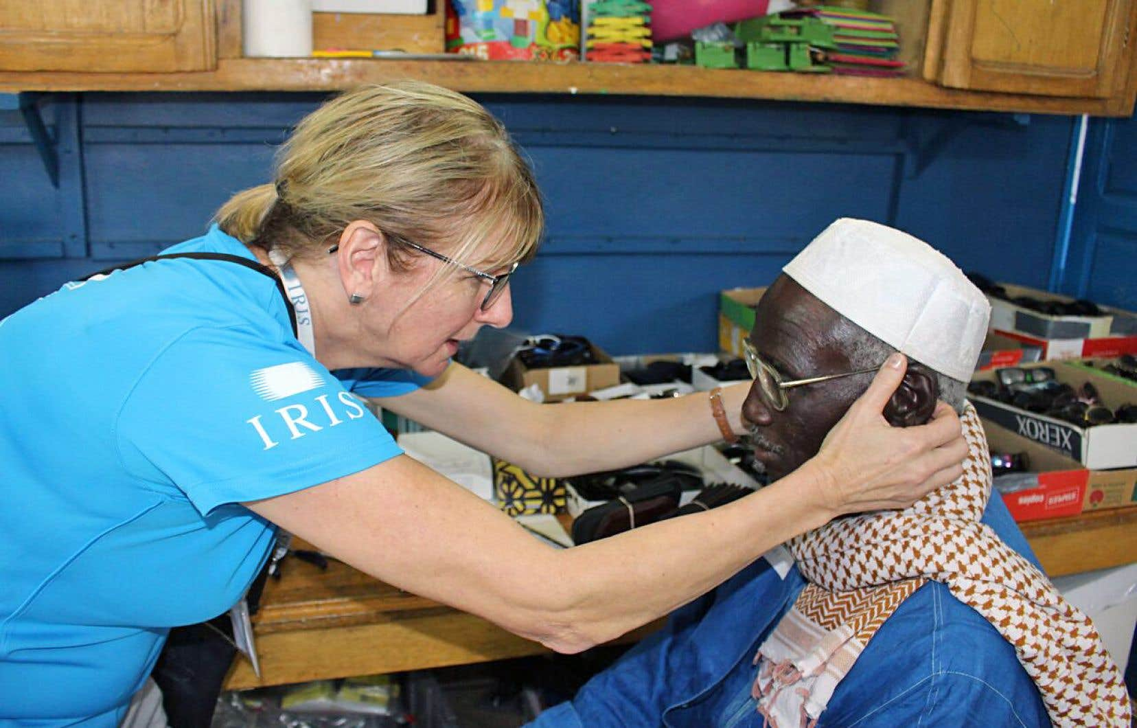 Une clinique ponctuelle d'IRIS Mundial au Sénégal