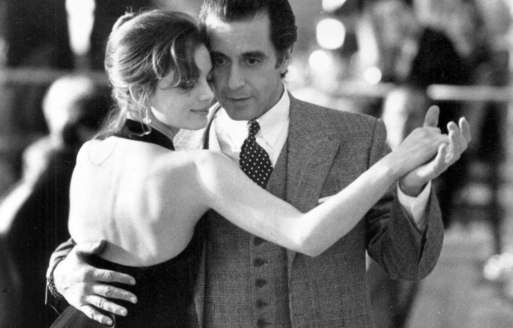 L'amour est une danse aveugle, pas une comptabilité où le désir est systématiquement objectifié. Al Pacino dans «Scent of a Woman» en tanguero atteint de cécité.