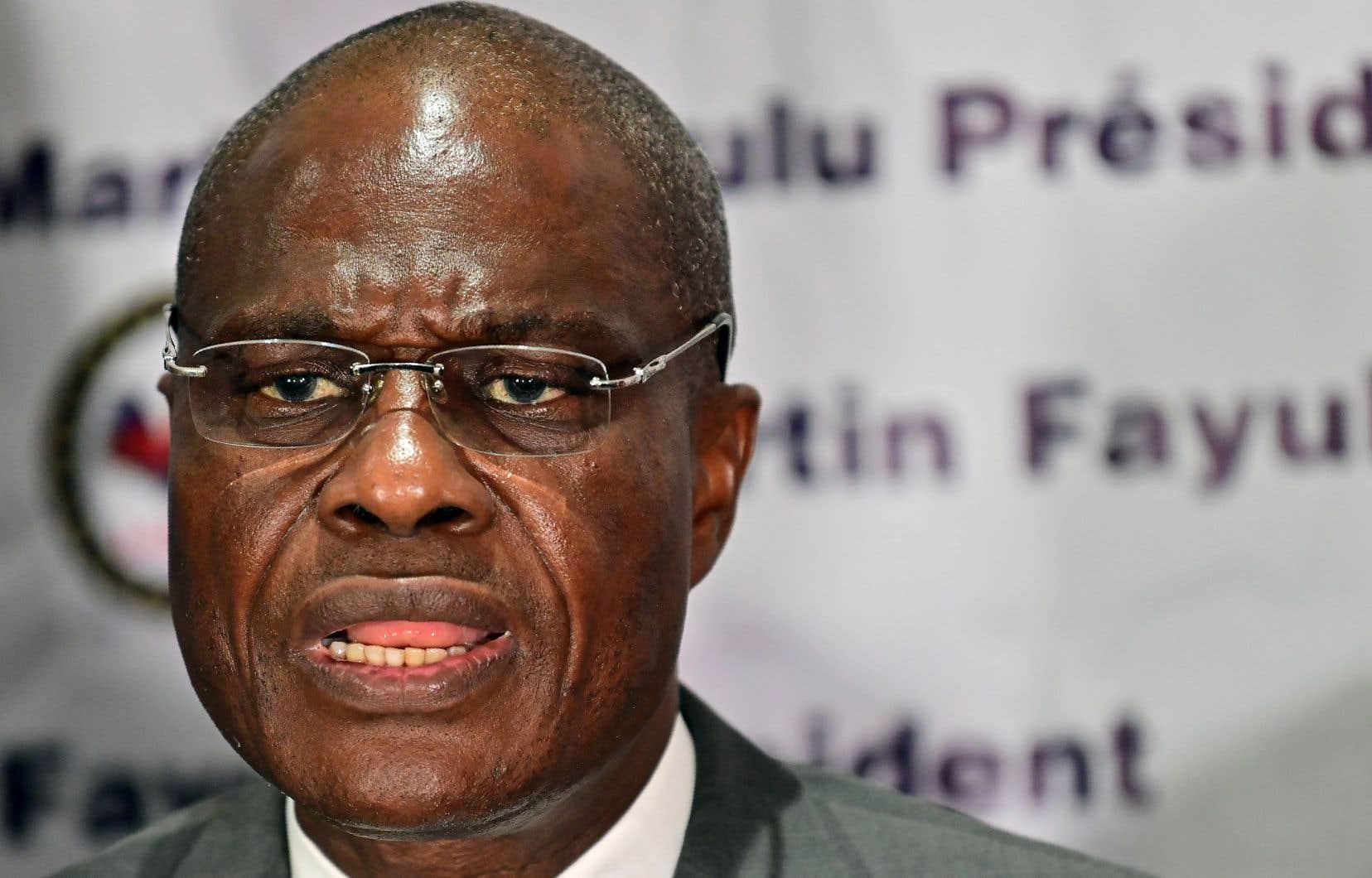 Dans une allocution à ses concitoyens en début de soirée, le candidat malheureux de l'élection présidentielle, l'autre opposant Martin Fayulu, s'est dit prêt à discuter.