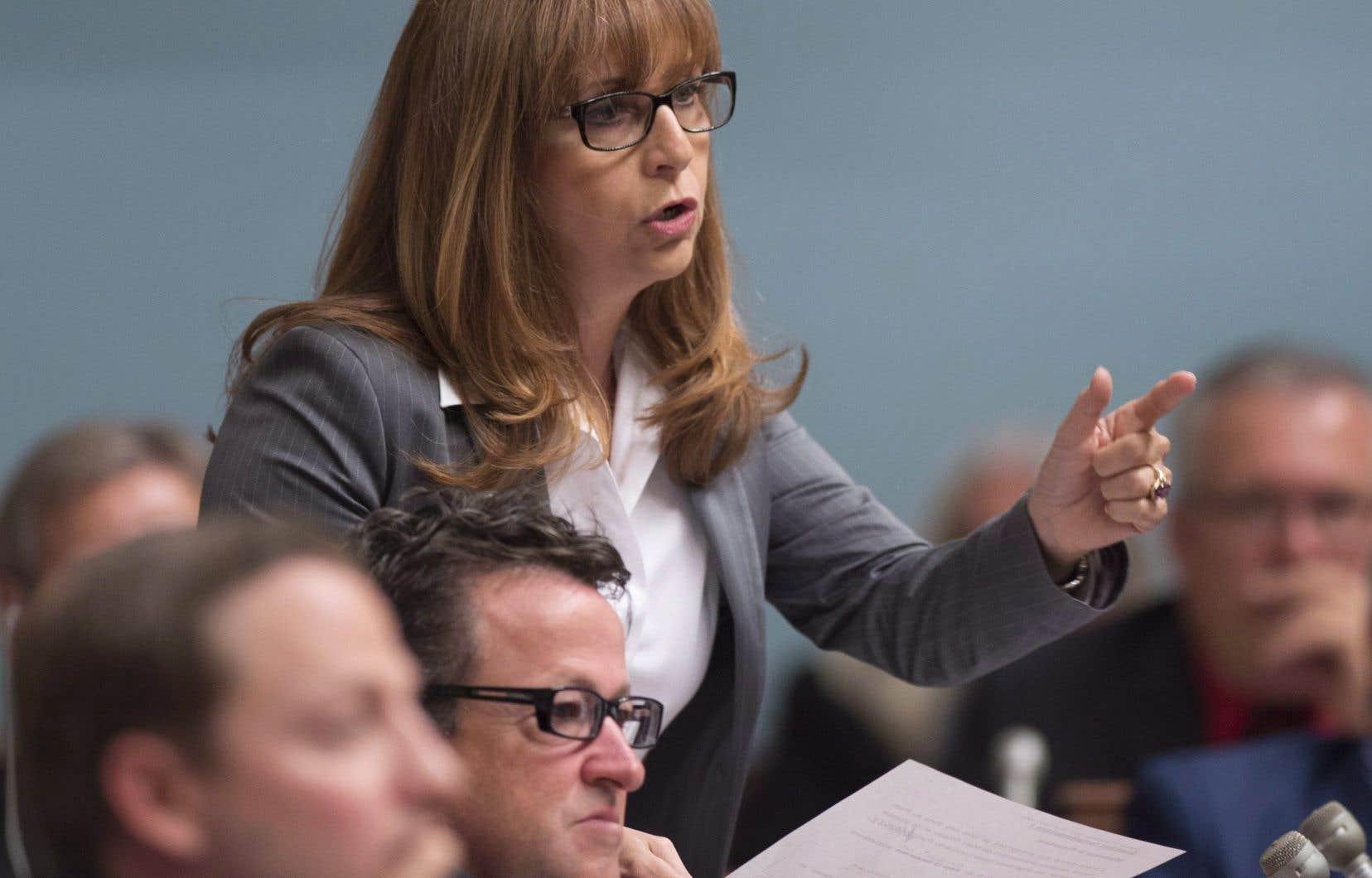 La ministre québécoise de la Culture, Nathalie Roy