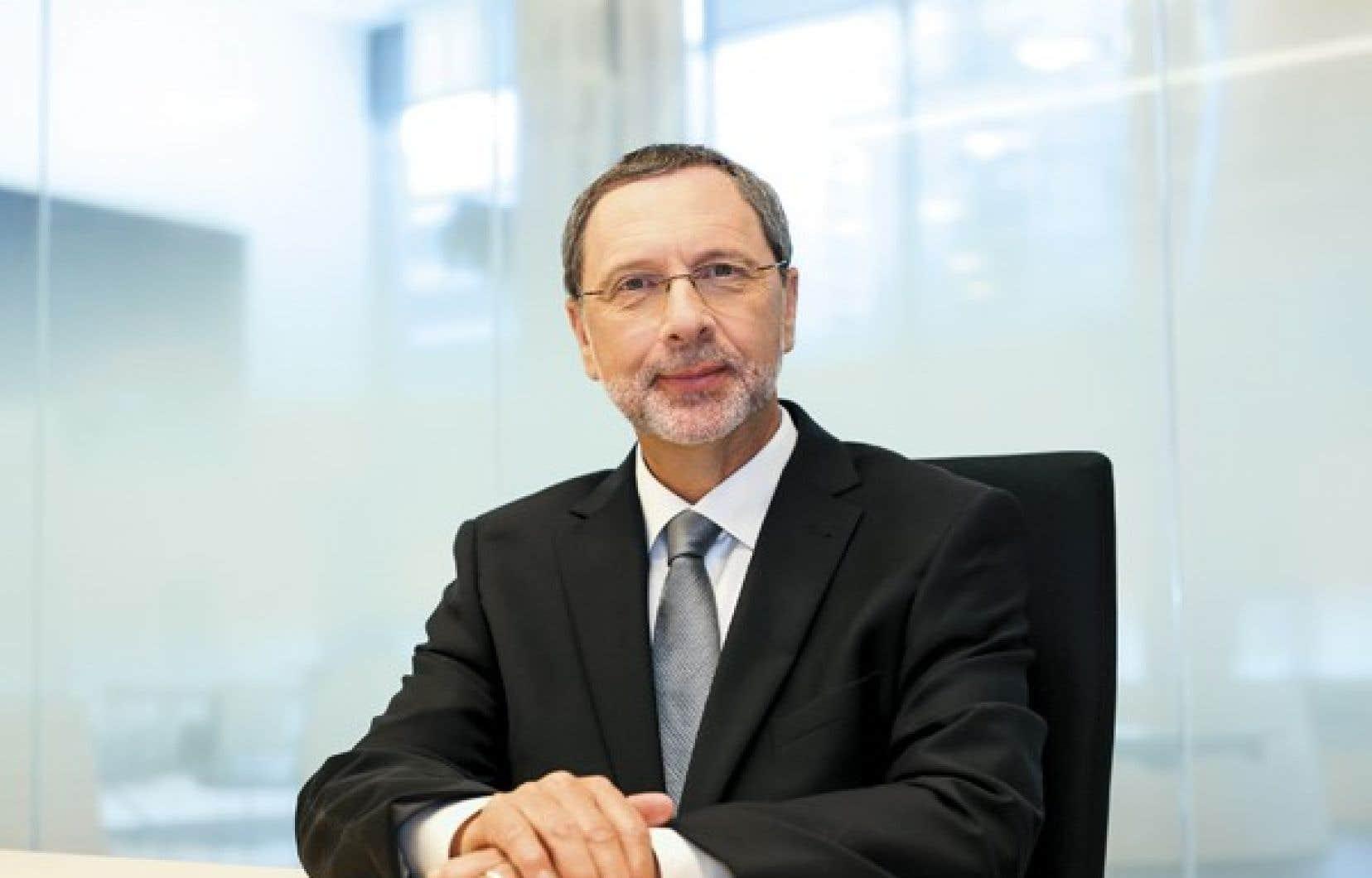 <strong>Yves-Thomas Dorval, président-directeur général du Conseil du patronat du Québec.</strong>