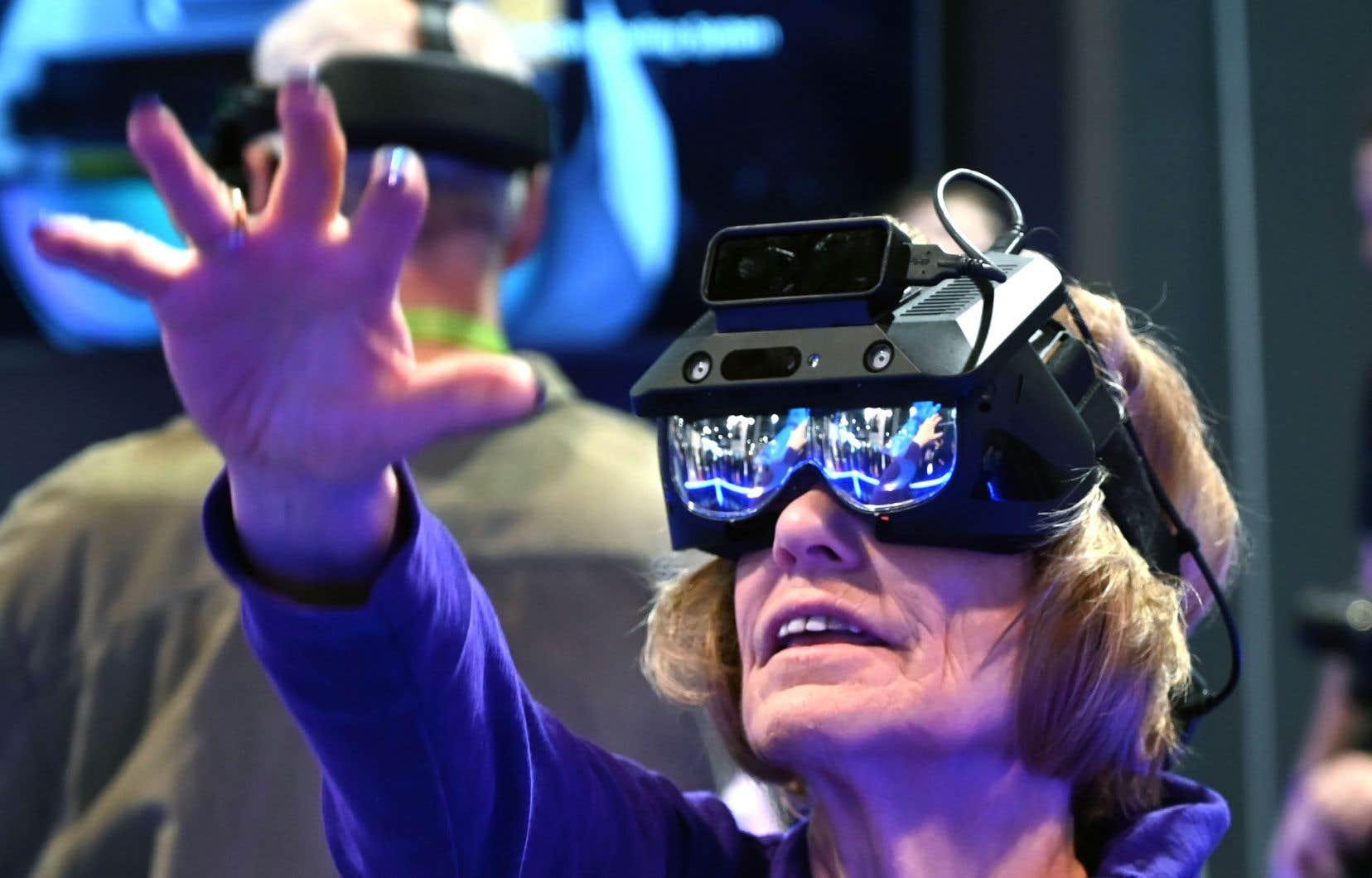 Si la foule était de tous âges la semaine dernière au Consumer Electronics Show de Las Vegas, les produits destinés aux personnes âgées abondaient.