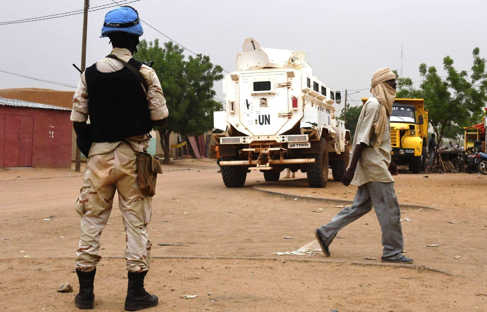 <p>Dix Casques bleus tchadiens ont été tués et au moins 25 autres ont été blessés.</p>
