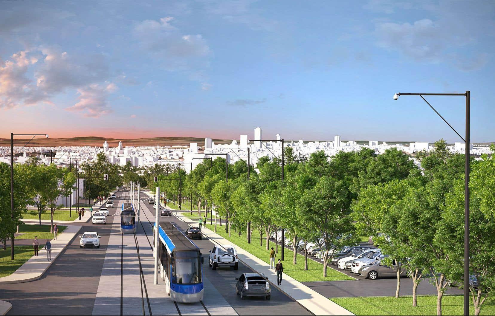 Évalué à 3 milliards, le réseau de tramway de Québec doit voir le jour en 2026.