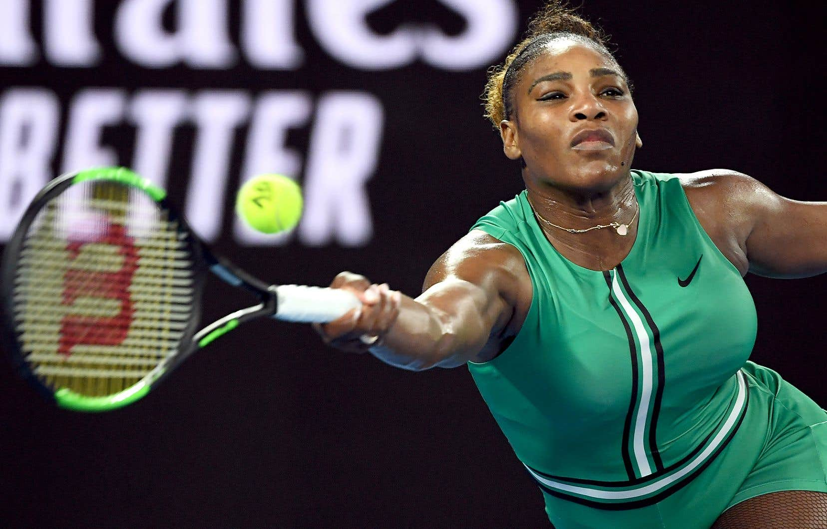 L'Américaine Serena Williams est en quête d'une 24ecouronne historique en Grand Chelem.