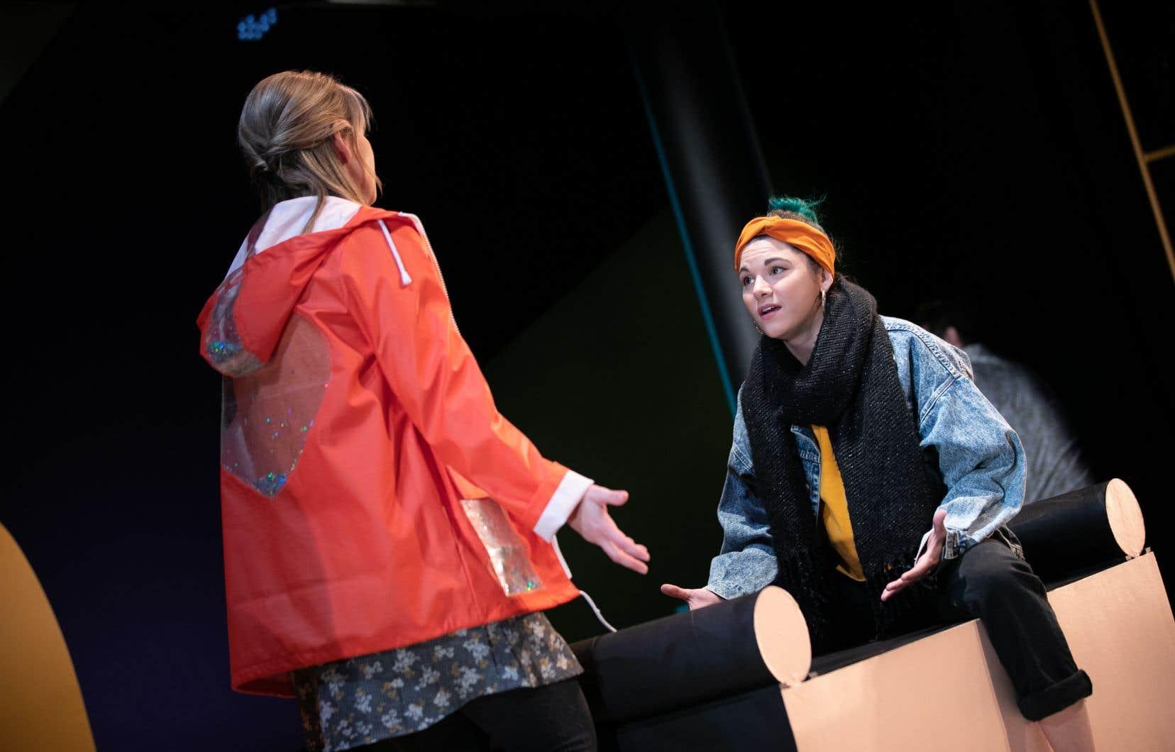 Dans «Rotterdam», un humour vif livré avec agilité par les comédiens vient équilibrer les passages plus dramatiques.