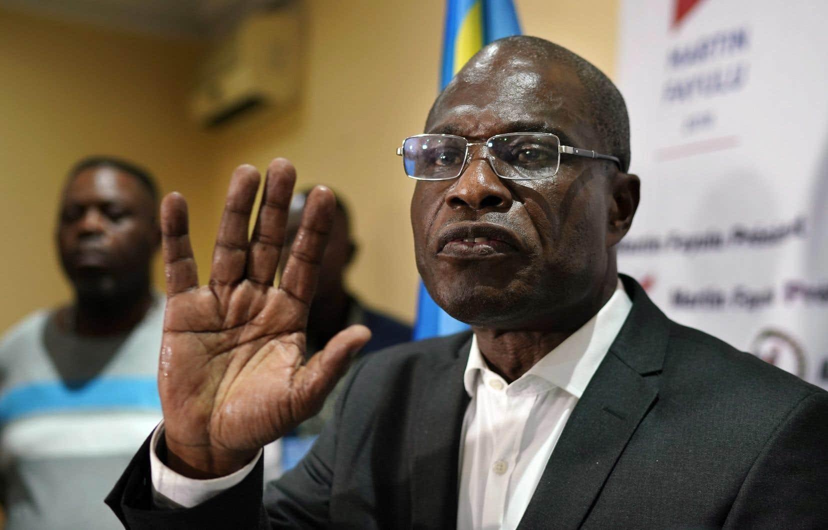 Martin Fayulu a tenté de rassembler ses troupes dans les rues de Kinshasa.