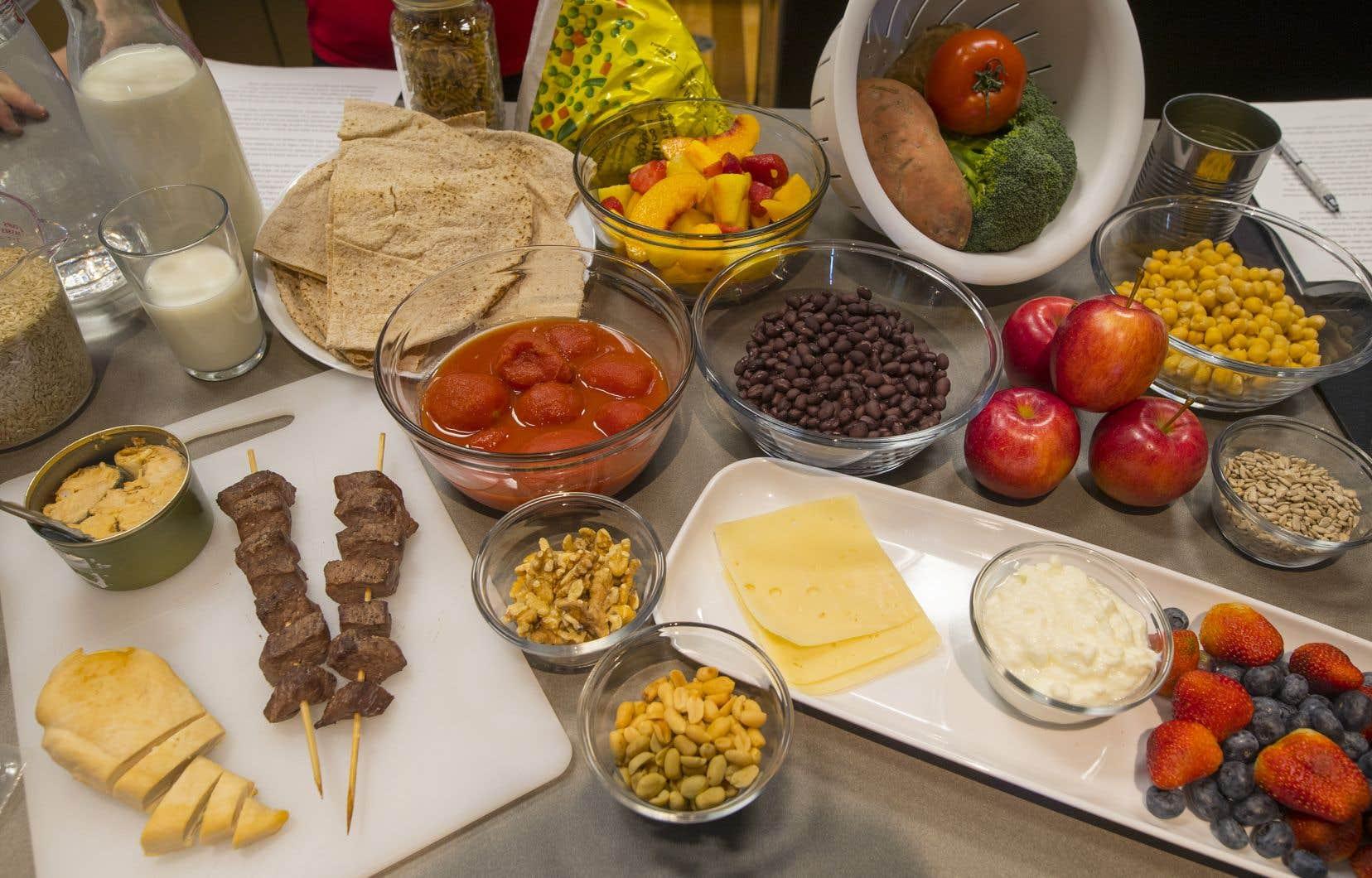Fini les portions recommandées et les groupes alimentaires tels qu'on les connaît depuis plusieurs années.