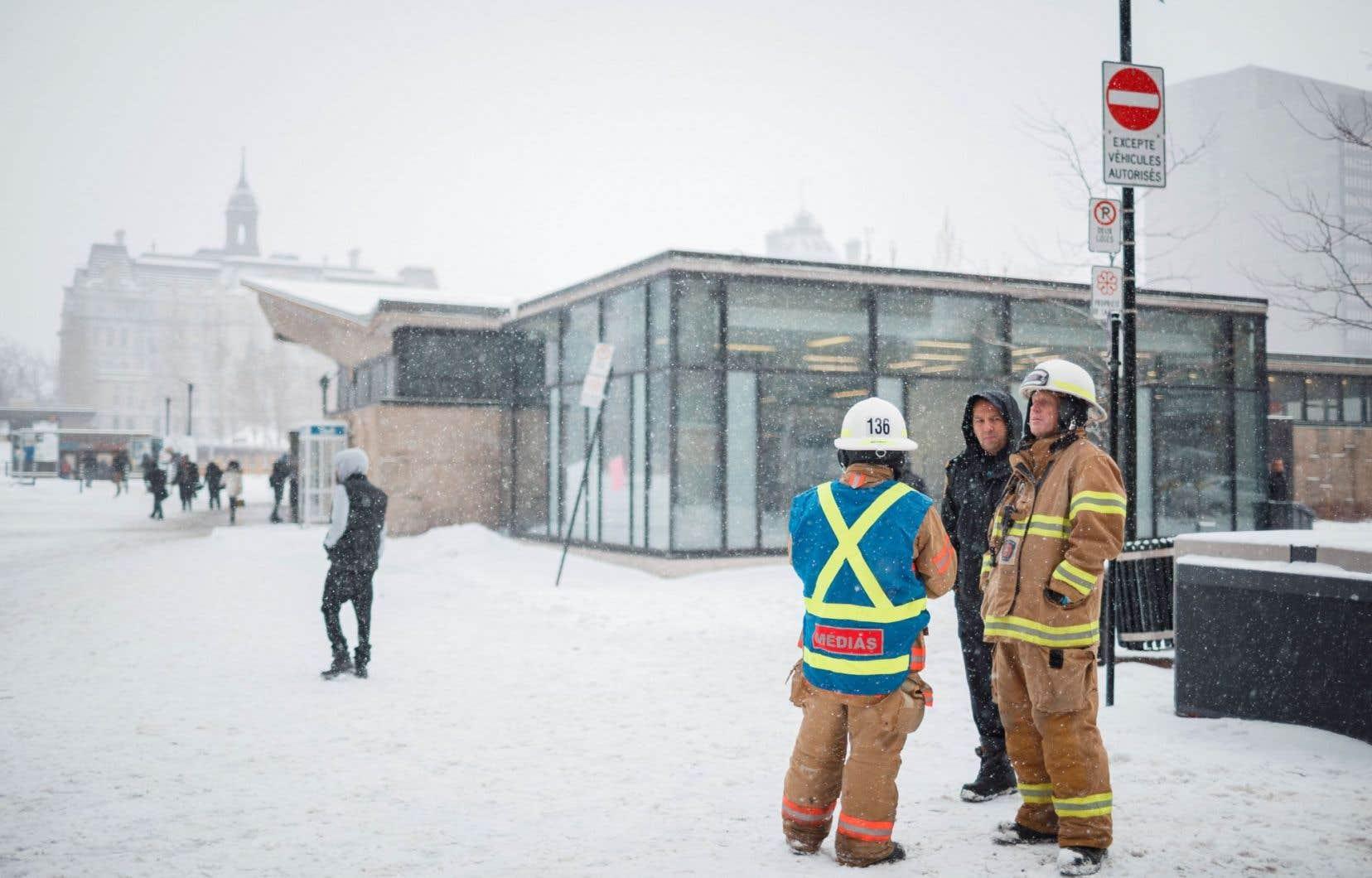 Une altercation entre deux usagers du métro à la station Champ-de-Mars avait paralysé une bonne partie du réseau le 9 janvier dernier.