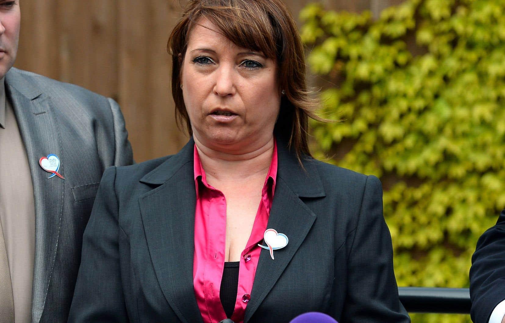 Denise Fergus, la mère de James Bulger, en 2013. Les parents de la victime demandent au réalisateur de retirer son court métrage de la course aux Oscar et de renoncer à sa distribution.