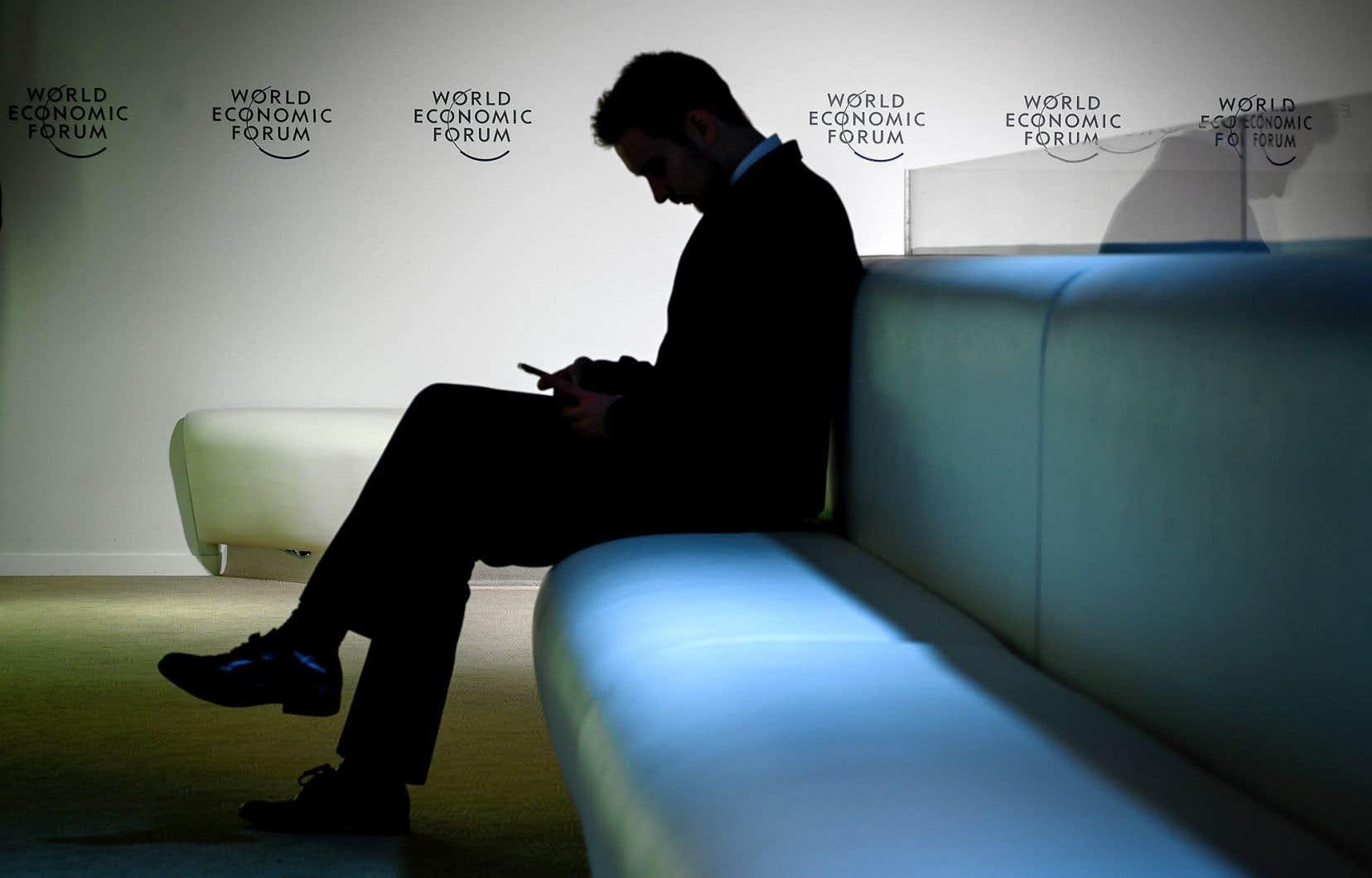 Les chefs des multinationales composaient environ les deux tiers des 3000 participants au Forum de Davos.