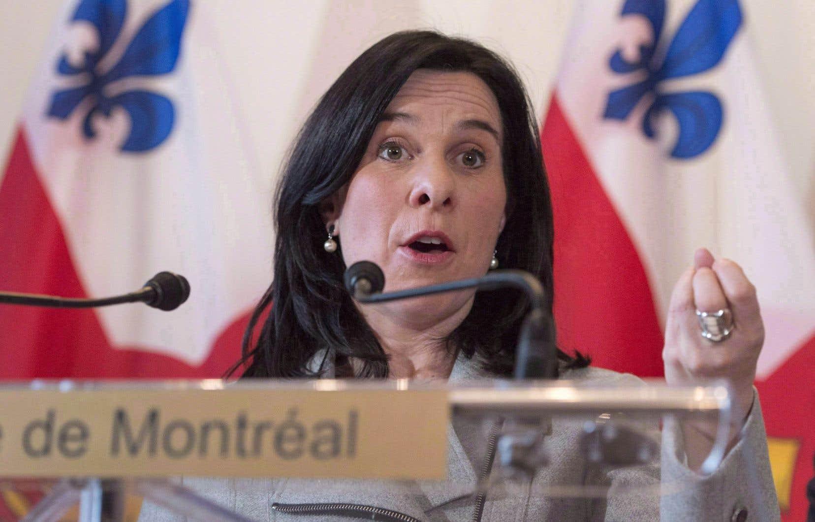 Valérie Plante entend rencontrer à brève échéance le promoteur Carbonleo et son homologue de Mont-Royal.