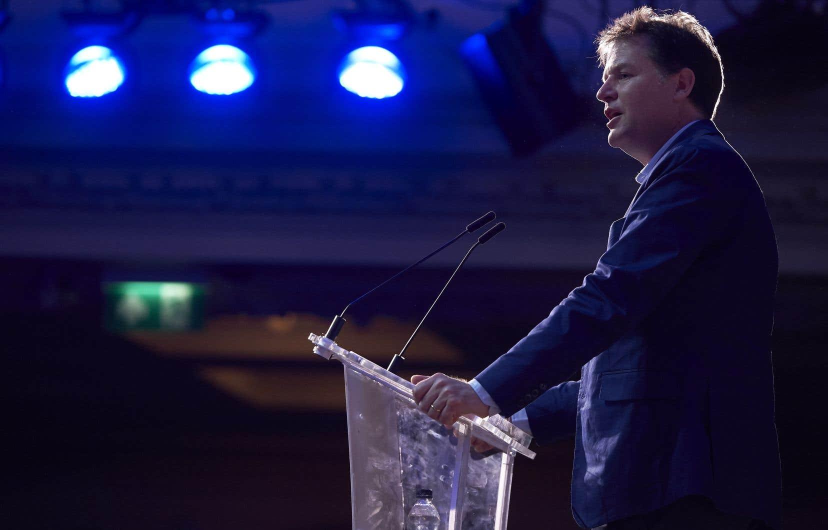 <p>Nick Clegg, ancien vice-premier ministre britannique et directeur mondial des affaires publiques de Facebook</p>