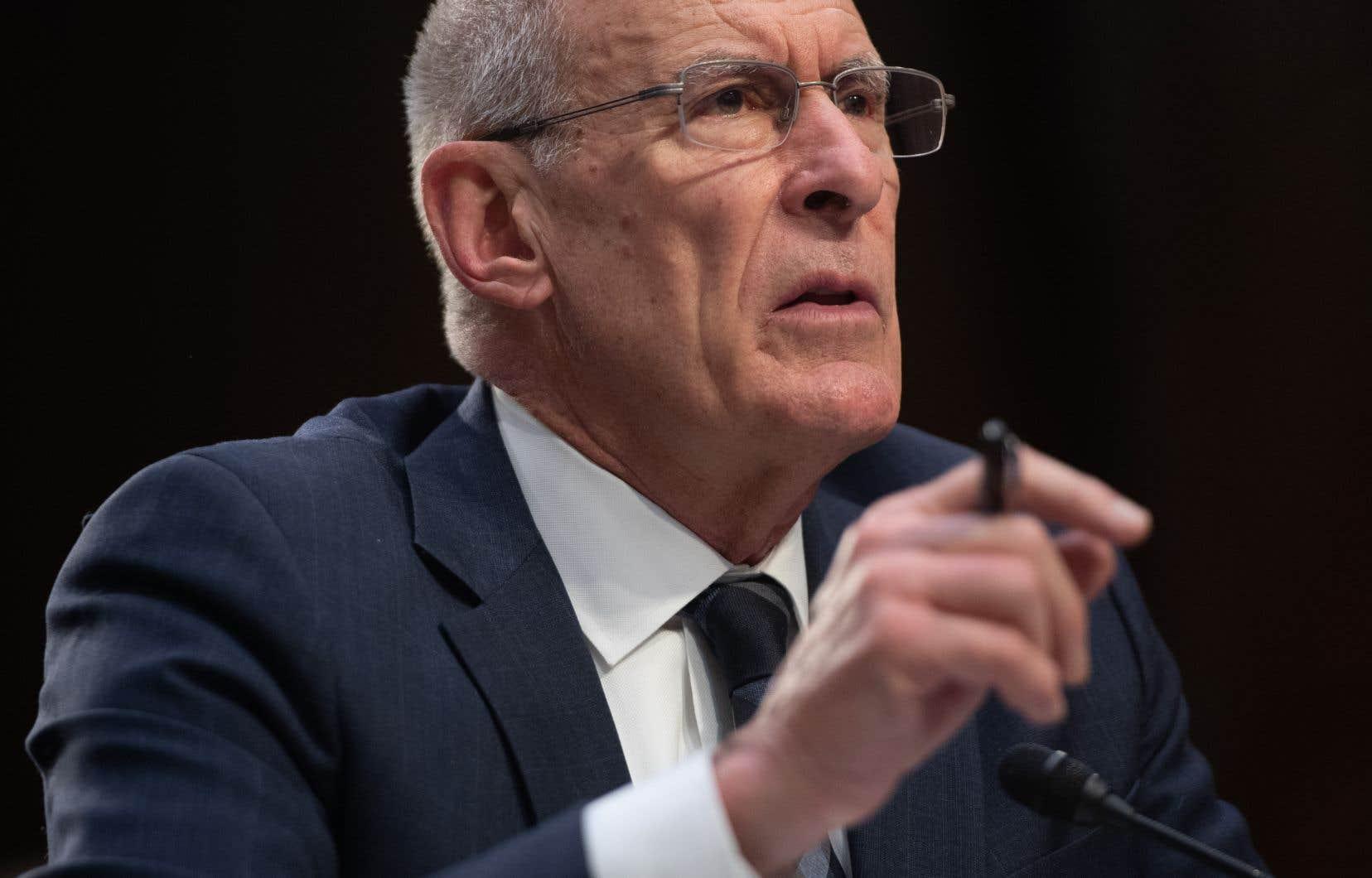 Le chef du renseignement américain, Dan Coats