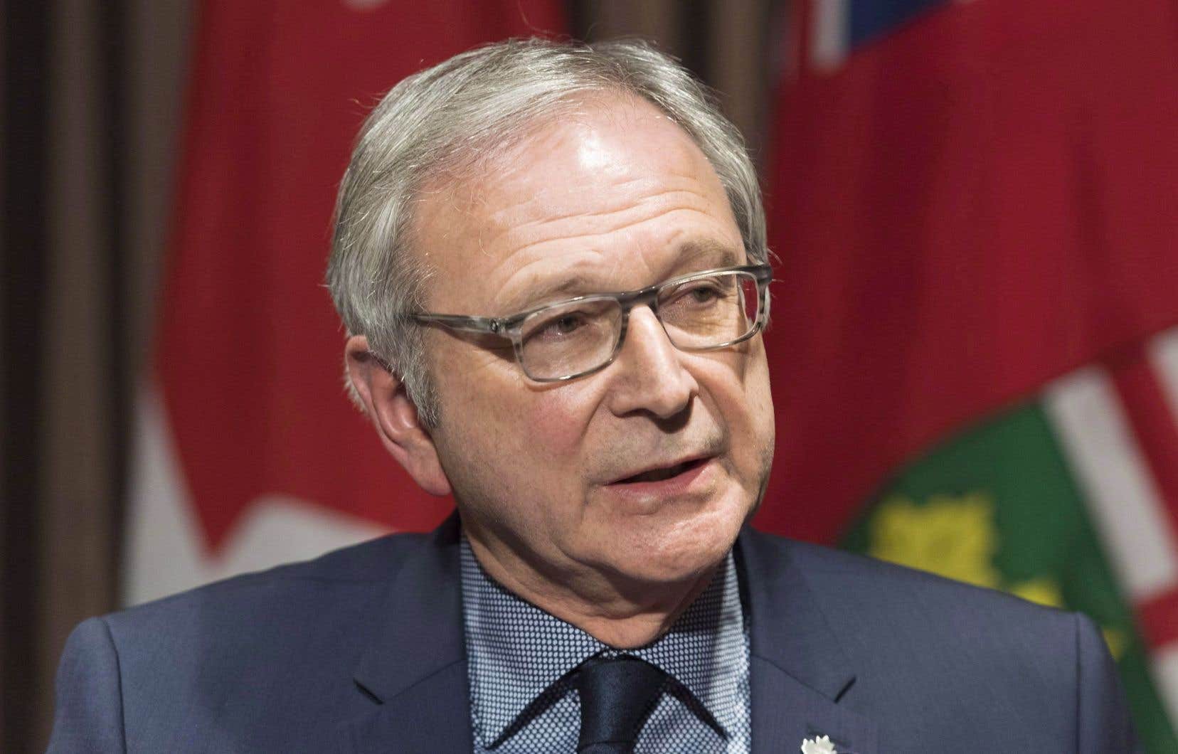 Le premier ministre duNouveau-Brunswick, Blaine Higgs