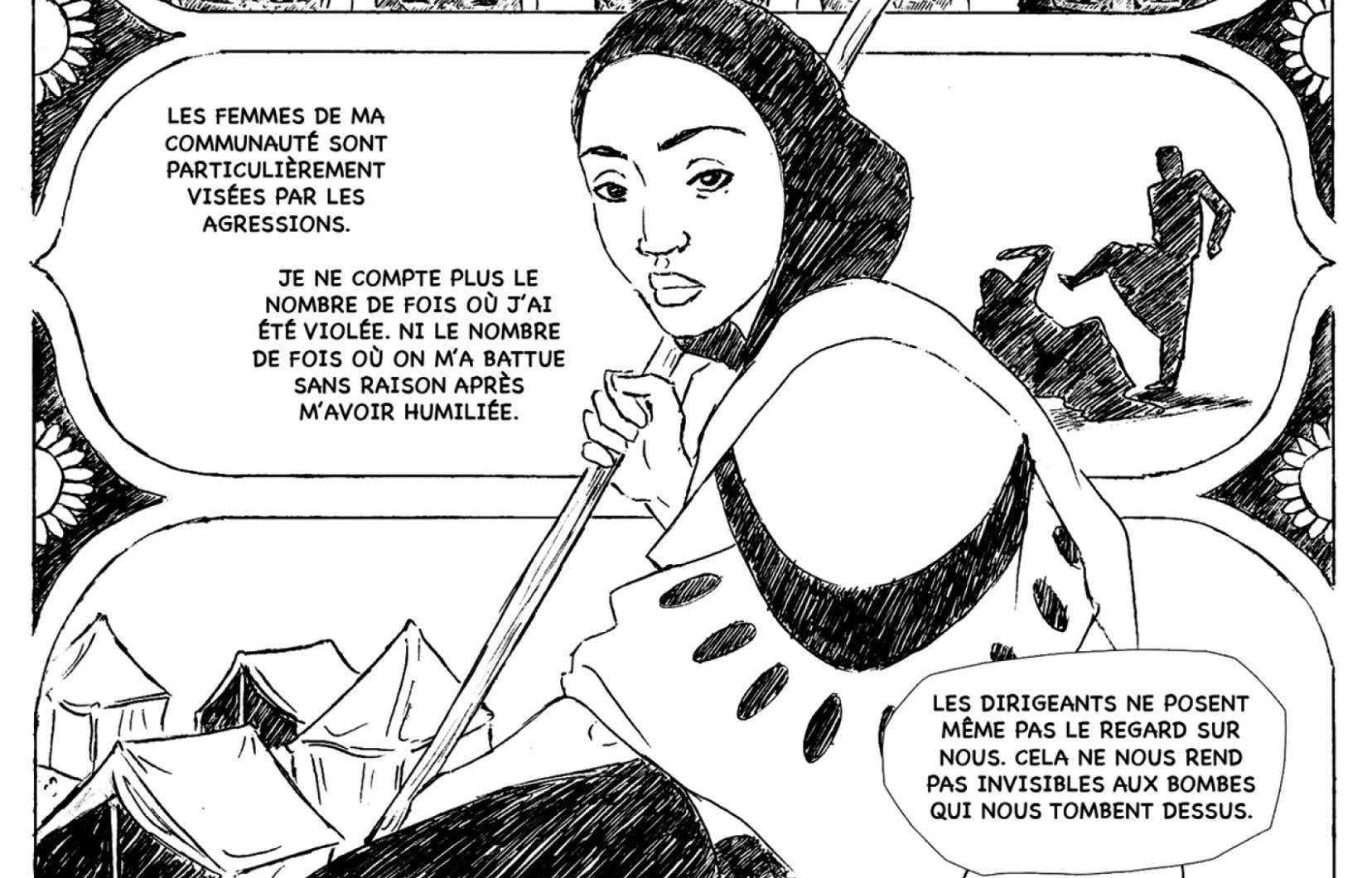 Les femmes de Saba. Histoires de résilience au Yémen. D. Mathieu Cassendo, Semaine du développement international, AQOCI