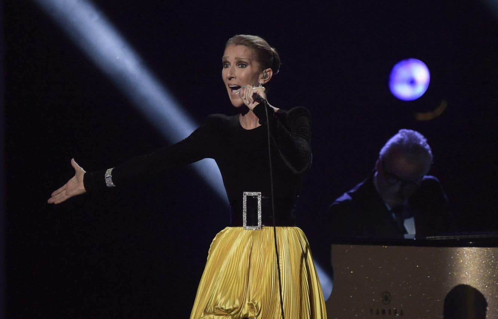 La chanteuse québécoise Céline Dion aurait autorisé un projet de film sur sa vie et accordé les droits de ses chansons à Gaumont.