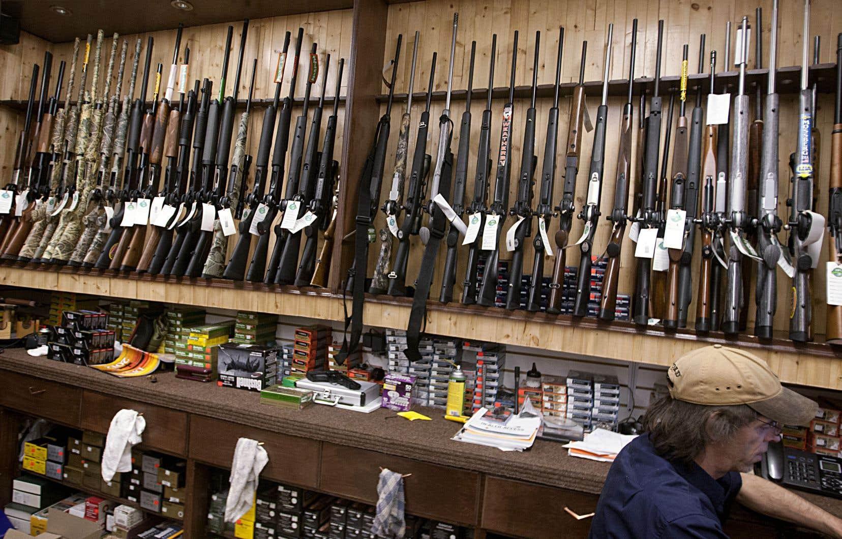 Les propriétaires d'arme à feu avaient jusqu'au 29 janvier pour inscrire leur arme au registre.