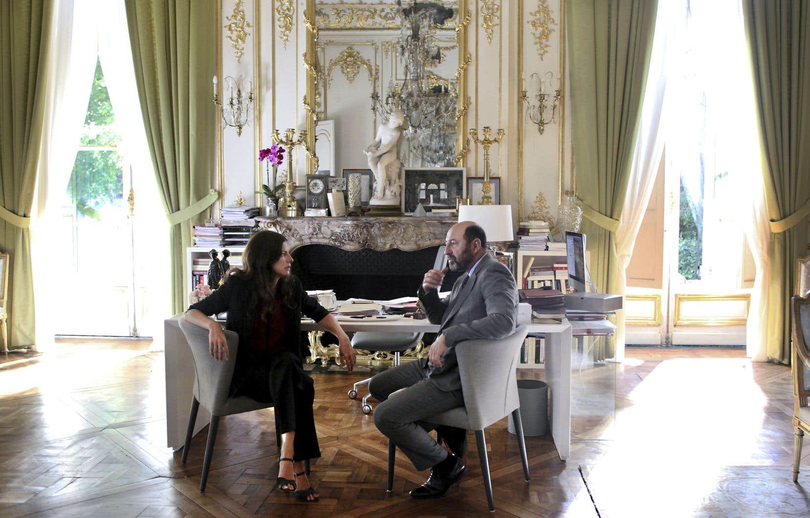 La première saison de la série française «Baron noir» a été diffusée ici au printemps dernier.