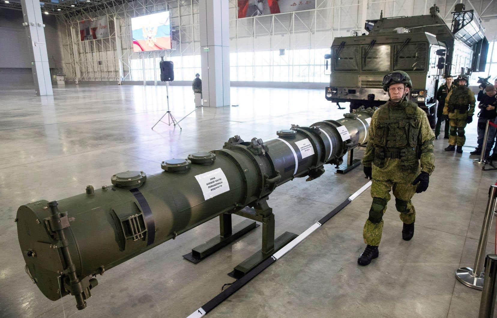 Les nouveaux missiles de longue portée de la Russie violent le traité selon les Américains.