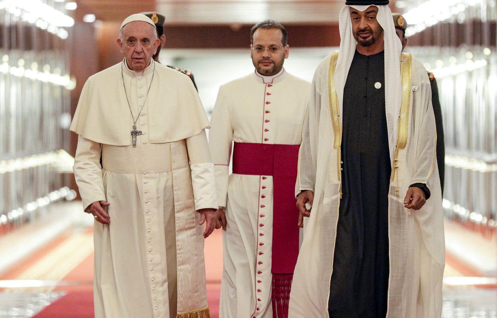 Le pape François visite le berceau de l'islam | Le Devoir